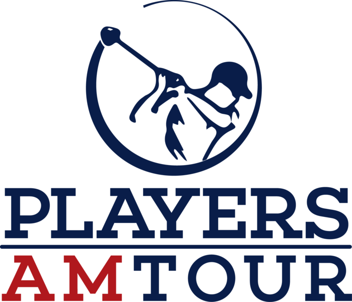 Large players am tour logo 2 stacked