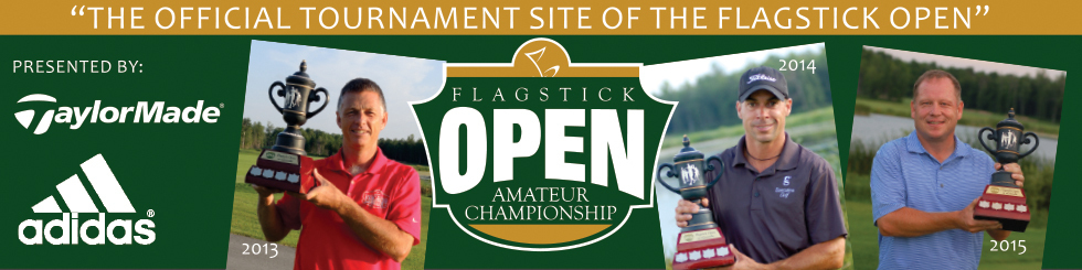 Banner flagstick open site header