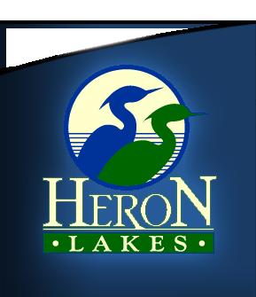 Large heron lakes