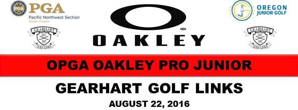 Banner oakley pro junior banner gg