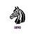 Square pcc horse blacklogo