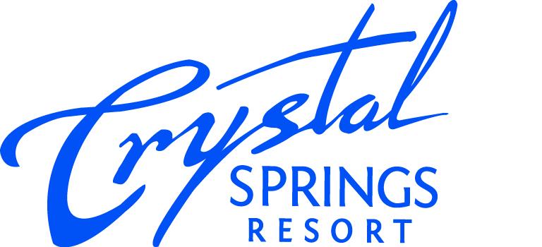 Large crystal logo