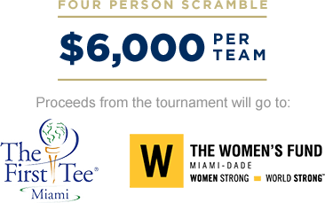 FOUR PERSON SCRAMBLE