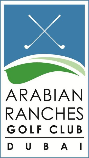 Large arabian ranches golf club logo