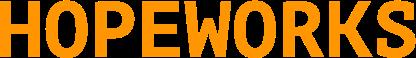 Large hopeworks orange
