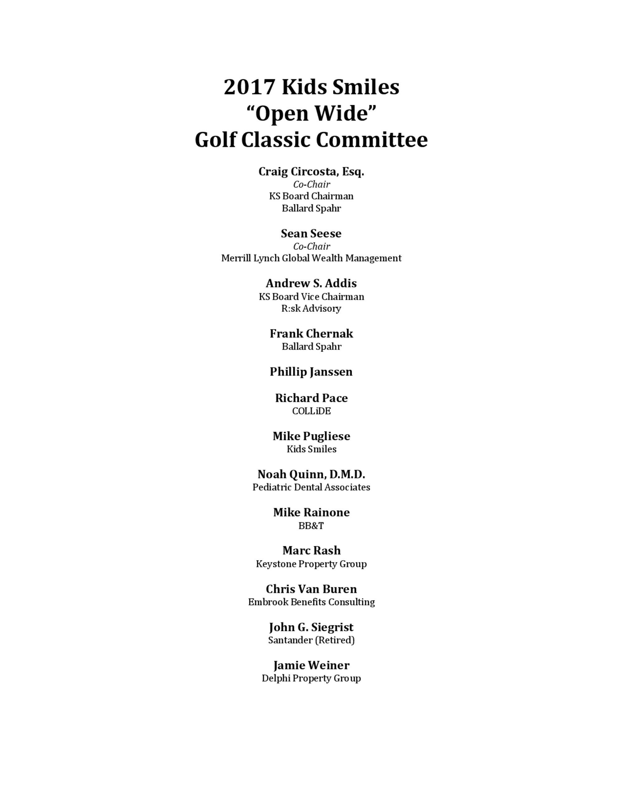 2017 golf committee 1