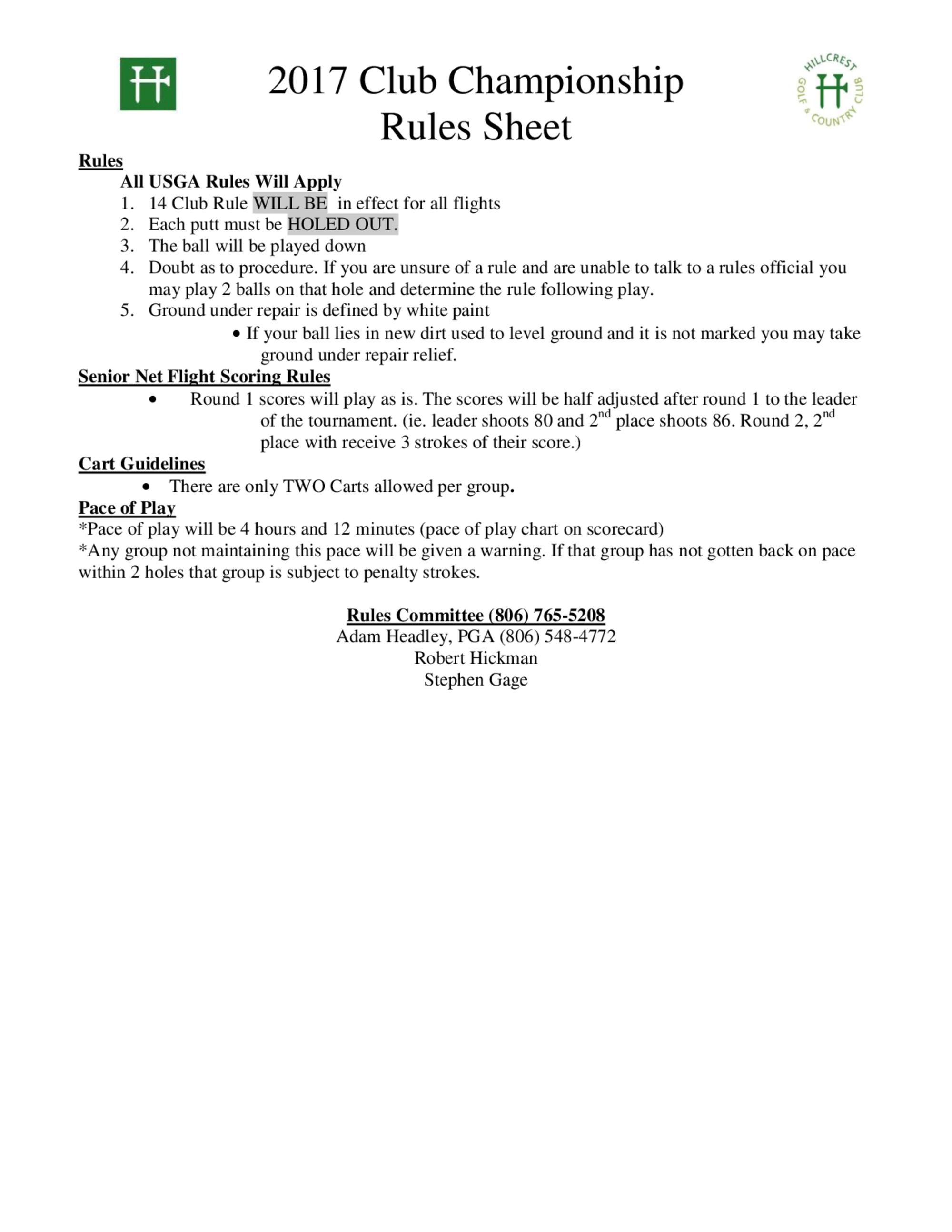 2017 club champ rules sheet 1