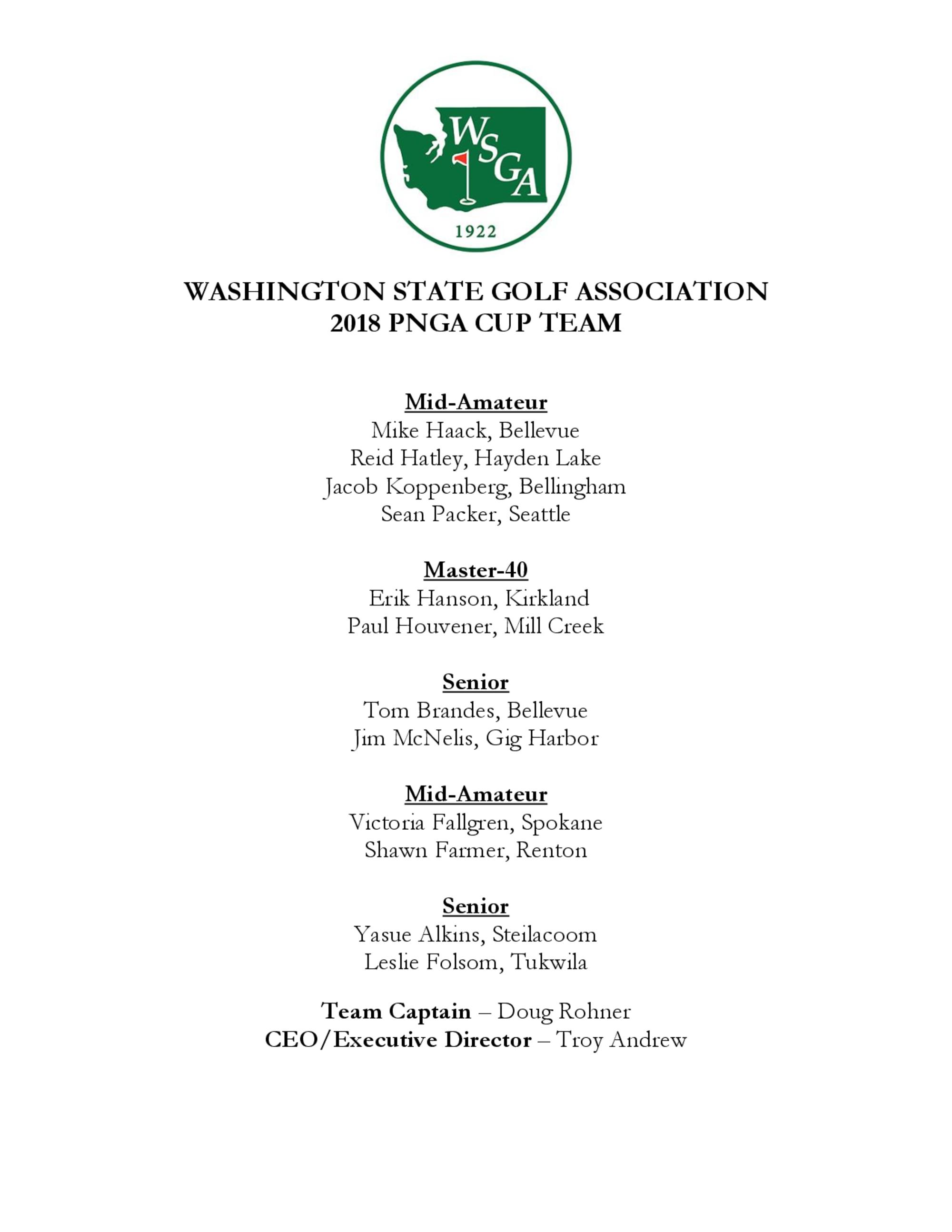 Wsga team roster 1