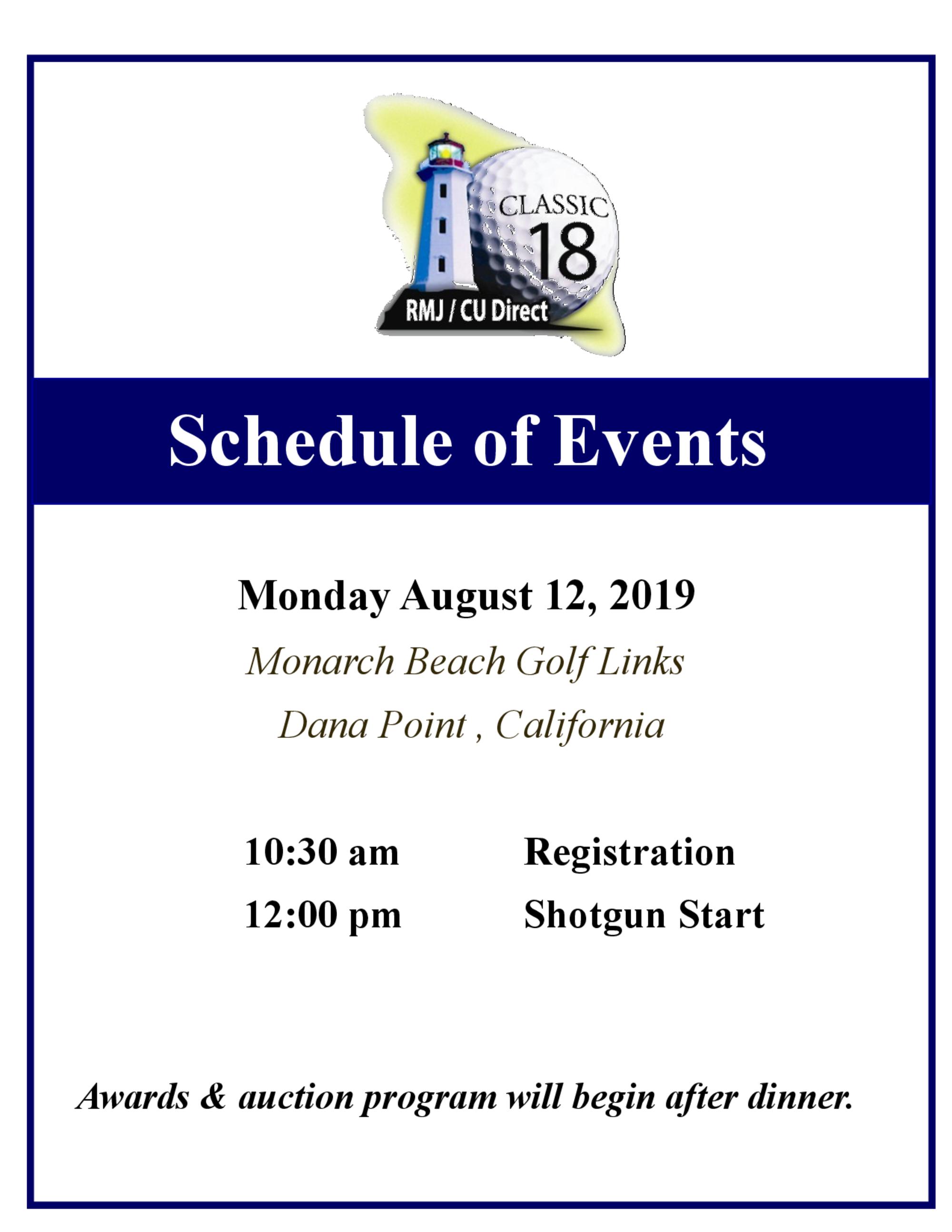 2019 schedule  rmj foundation  1
