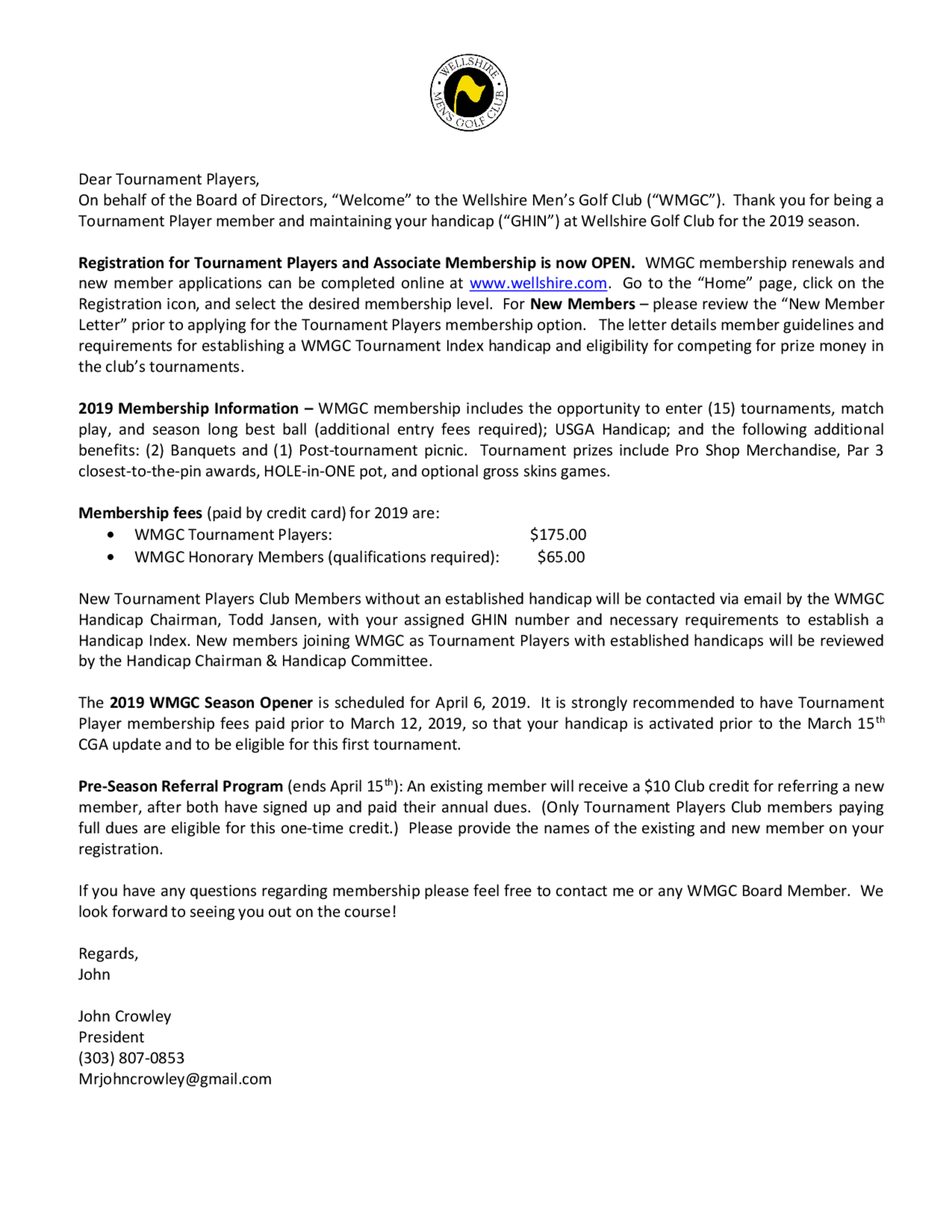 2019 wmgc tourn players welcome letter 2.6.19  2  1