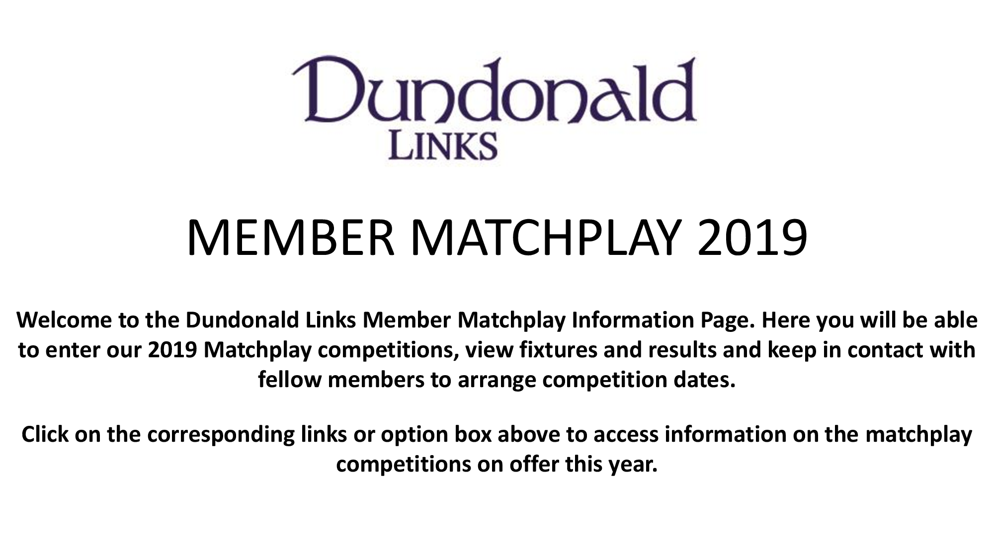 Matchplay intro portal page 2019 1