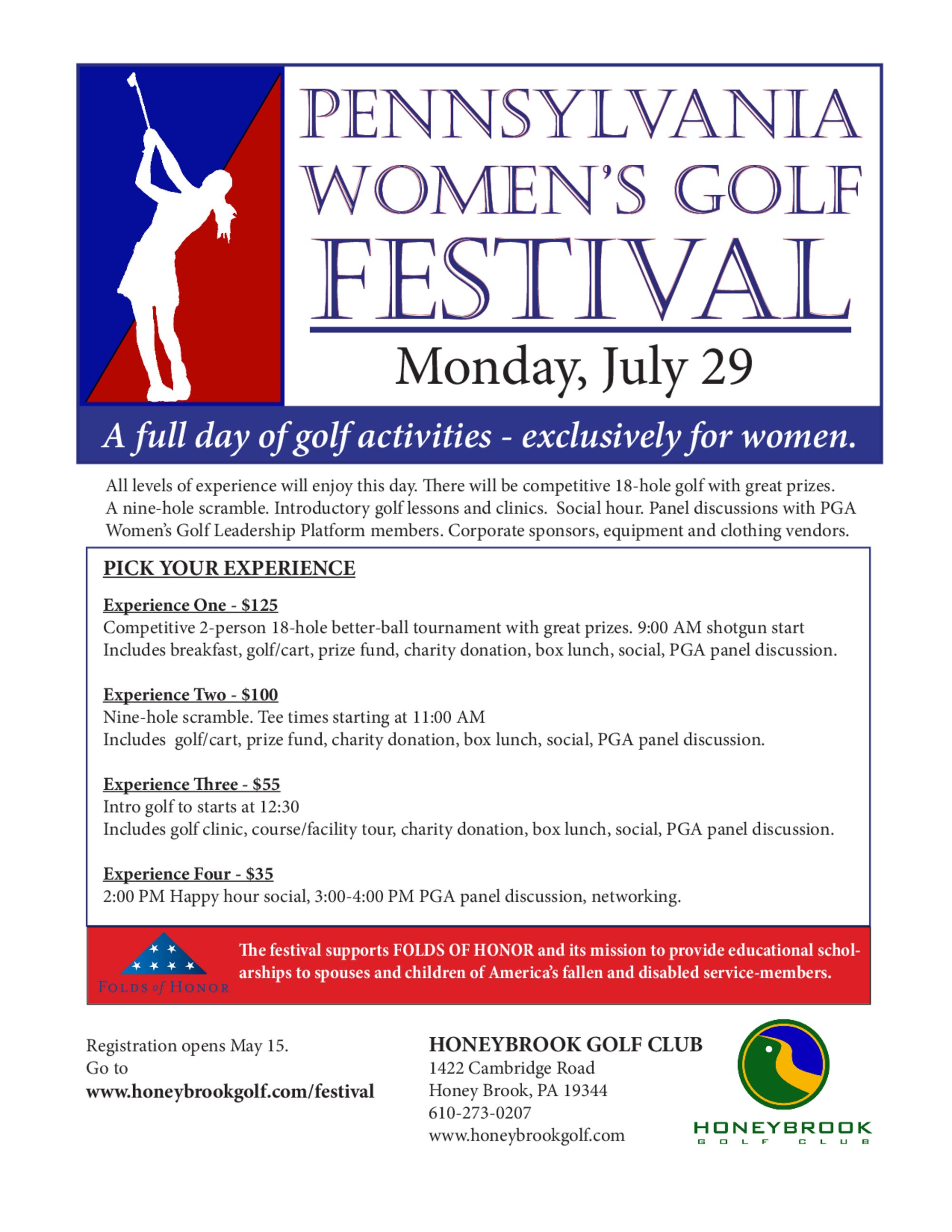 Women s golf festival 1