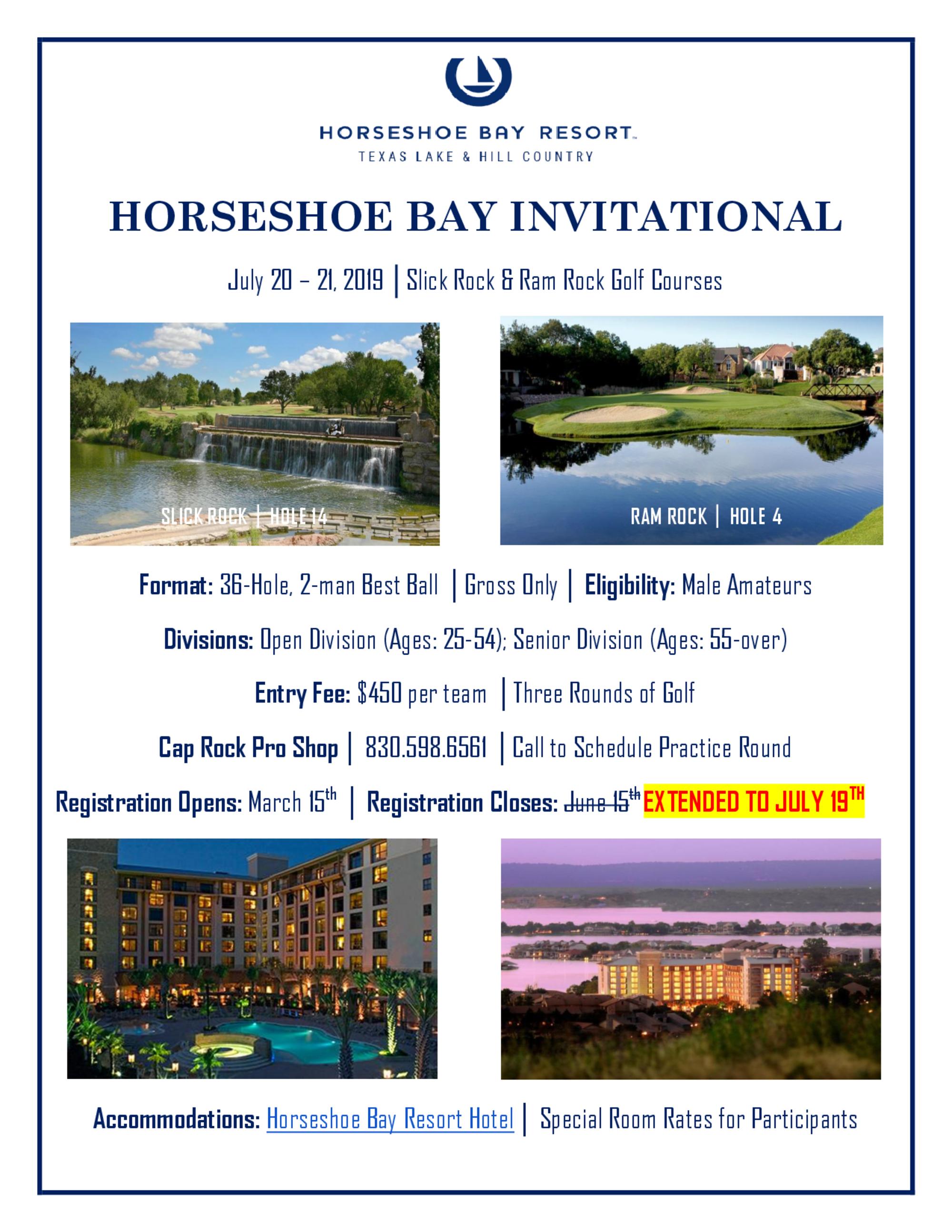 Horseshoe bay invitational flyer 1