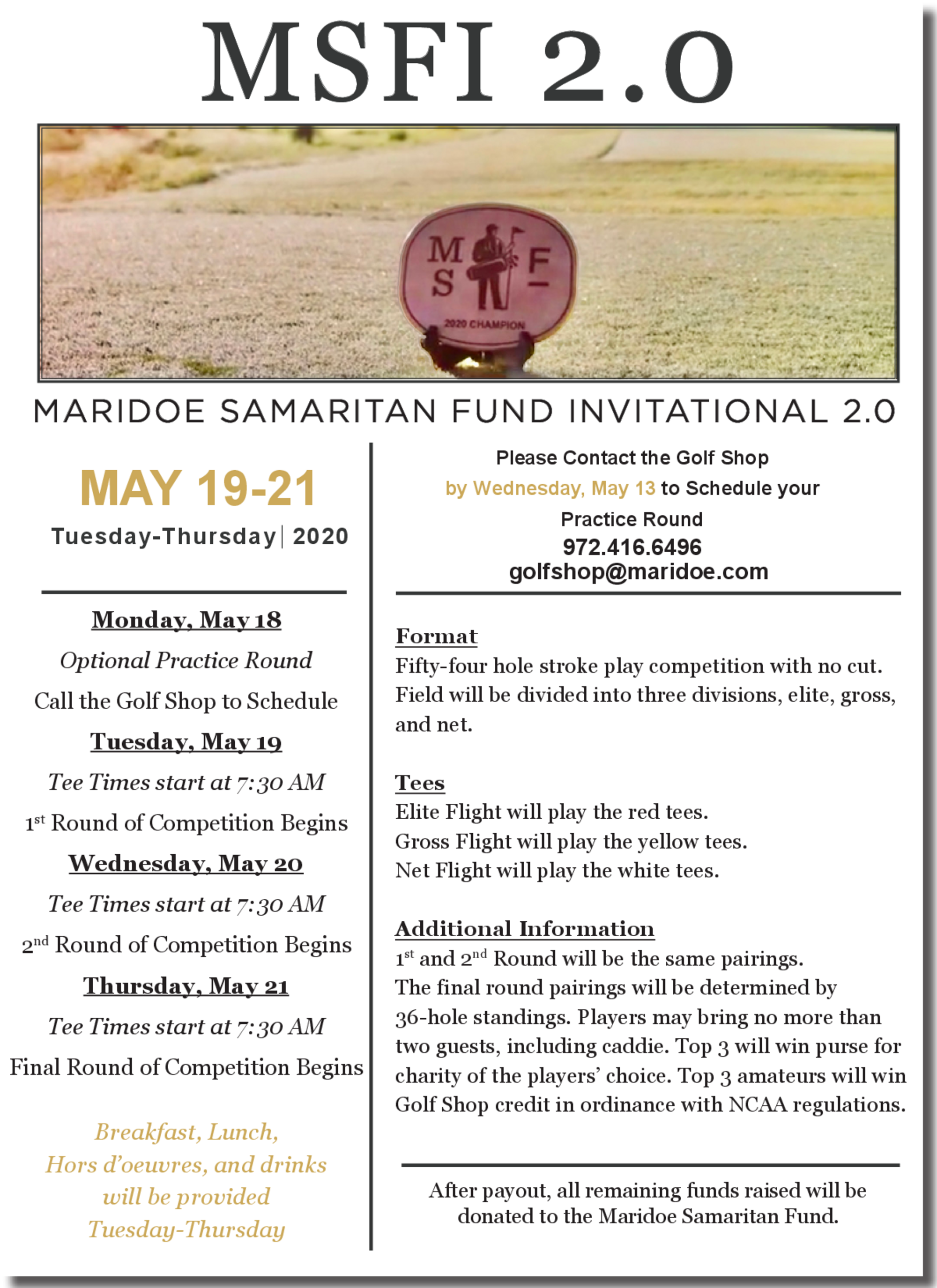 Msf invitational 2.0 flyer 1