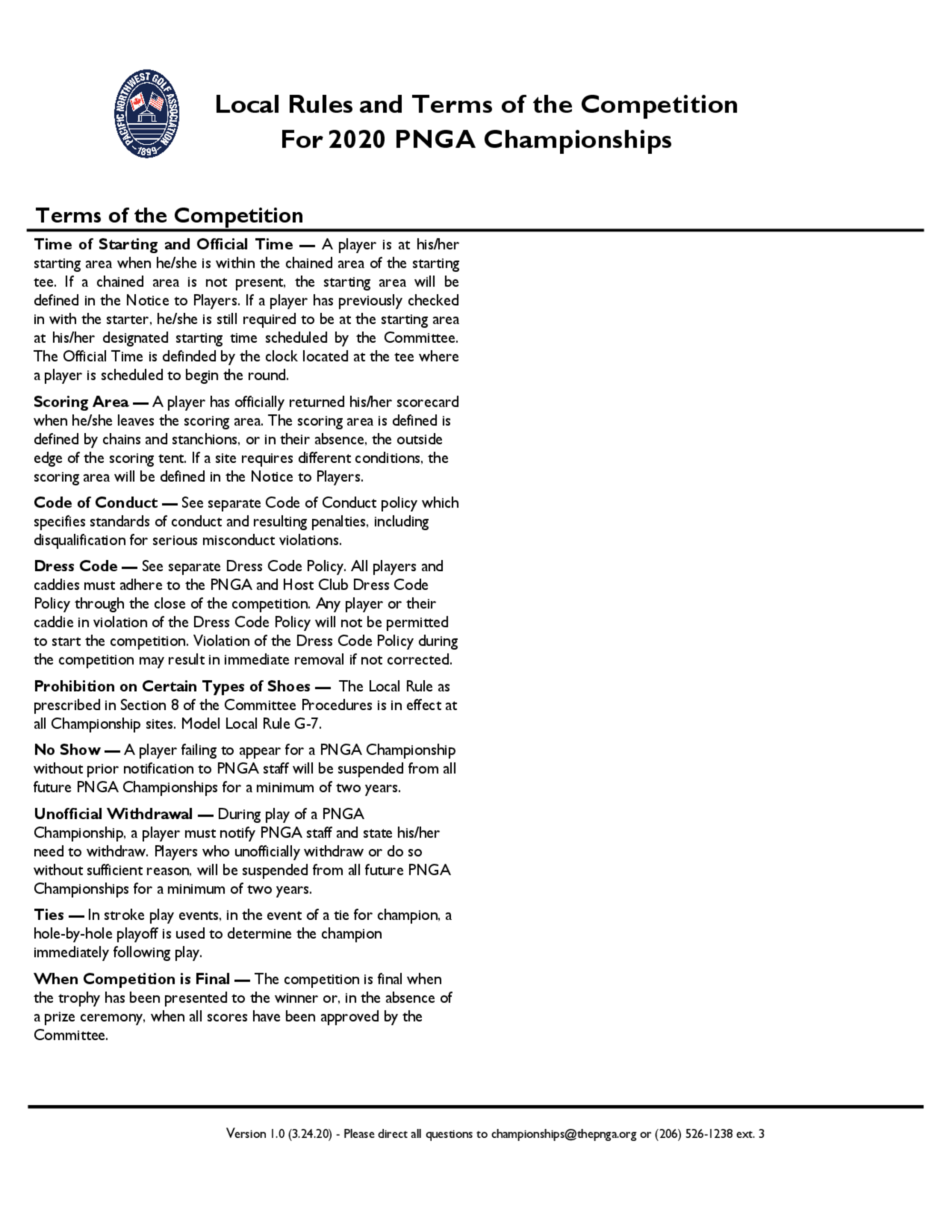 2020 pnga local rules and terms of the competition 2