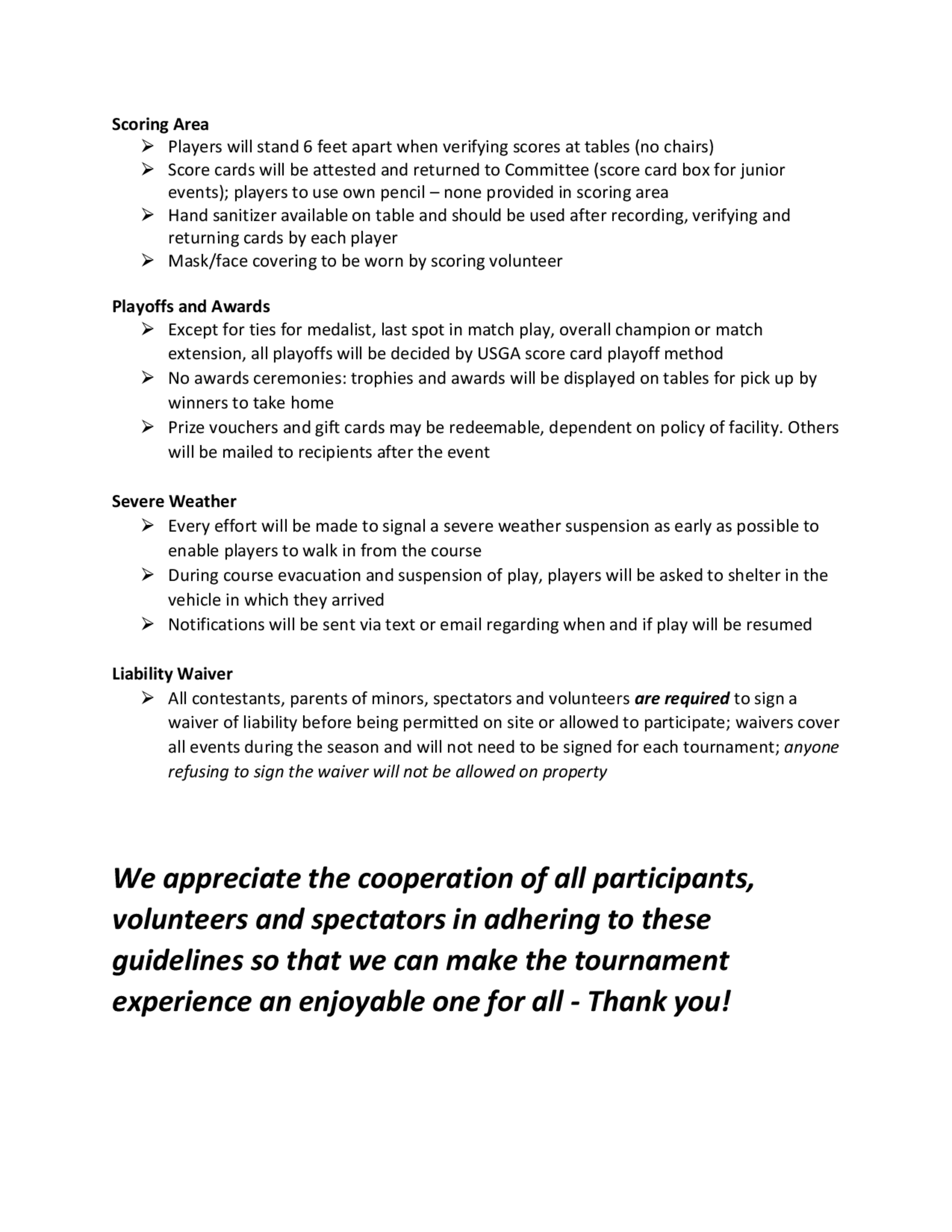 Oga 2020 covid guidelines for competitions 4