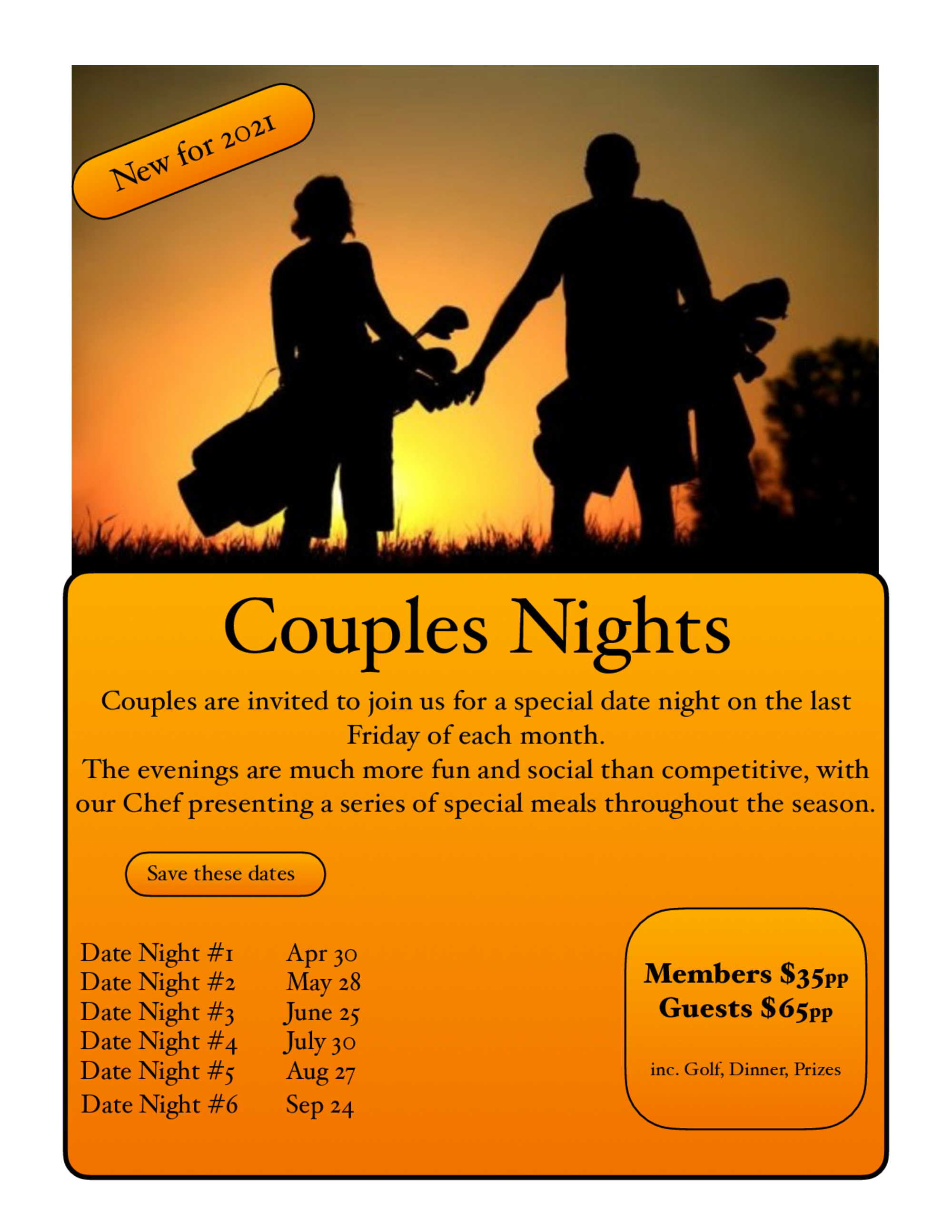 Couples nights poster 1
