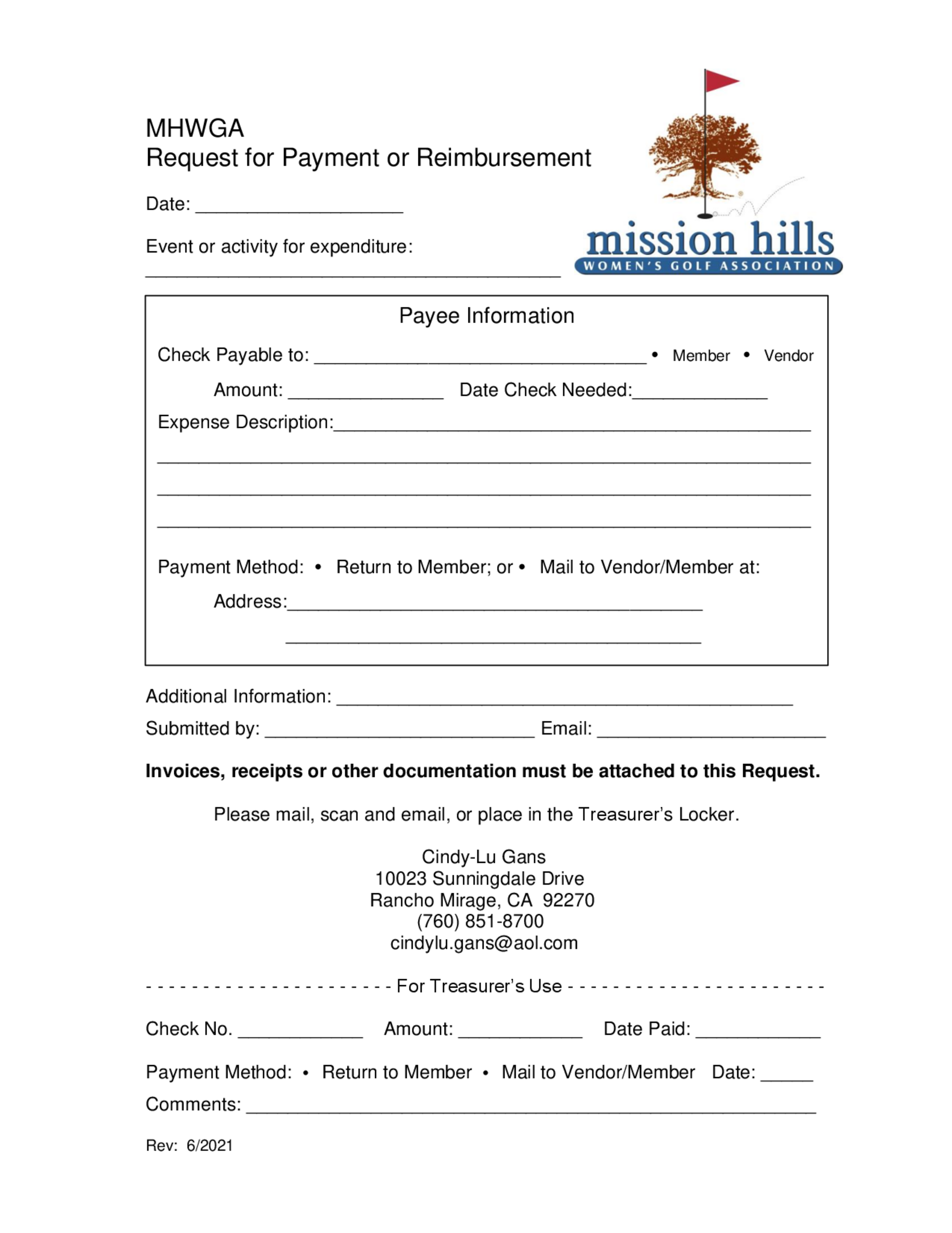 Payment request 1