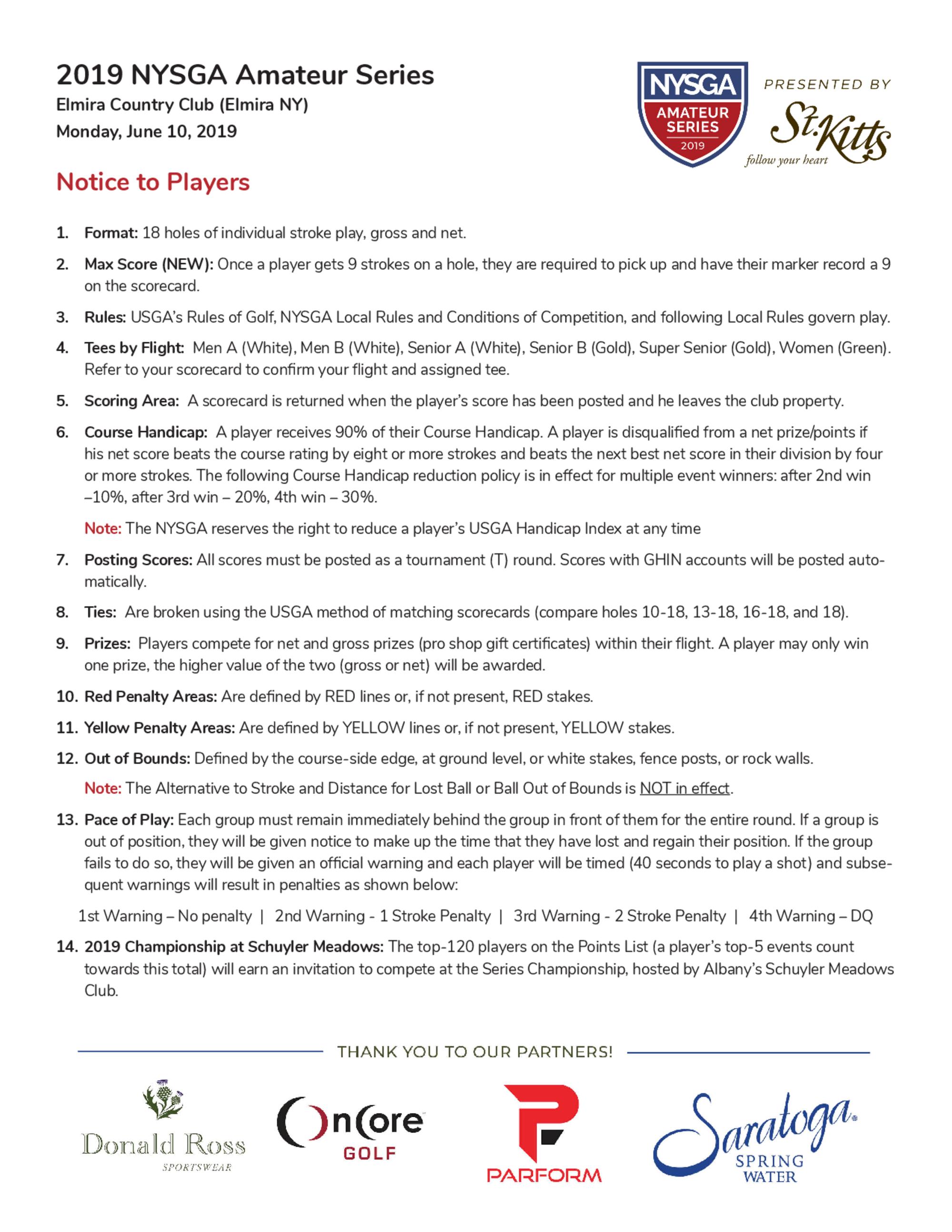 Elmira   notice to players 1