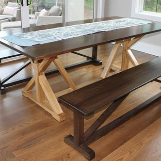 Large square table